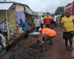 Obuasi East District Assembly Kick-Starts Monthly Clean Up Exercise